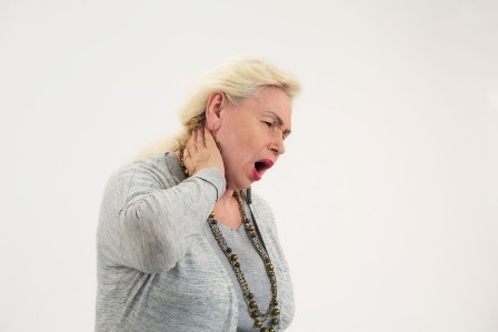 mature lady with tinnitus